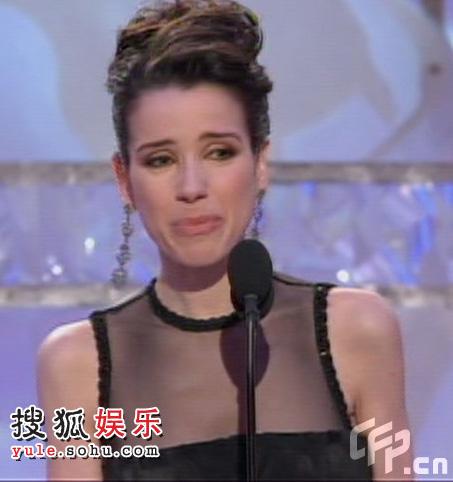 图:霍金斯获喜剧类电影最佳女主角
