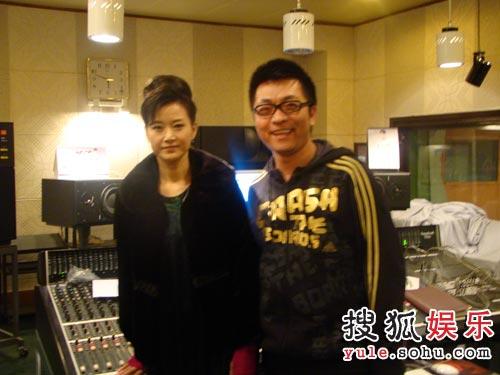 宋祖英与《心上人》创作者汤潮