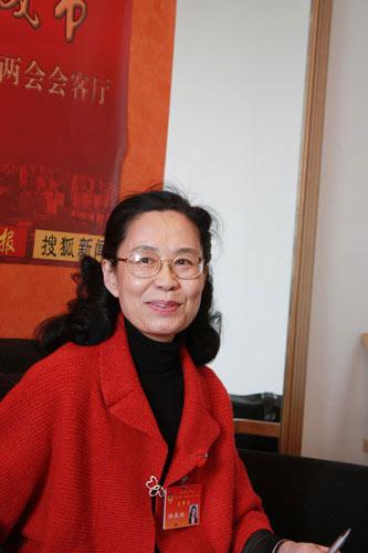 北京市政协委员洪亚敏
