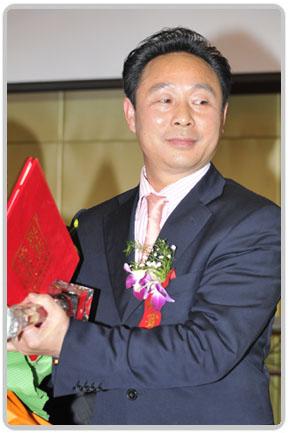 黄金宝董事长荣获2008十大风云甬商卓越甬商奖