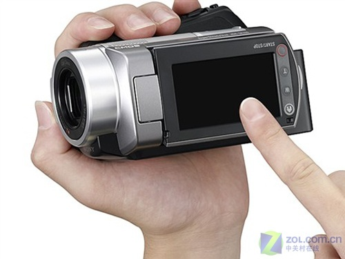 60GB容量防抖硬盘摄像机 索尼SR220E降价