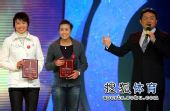 图文:体坛风云人物提名奖颁奖 沙排王洁与田佳