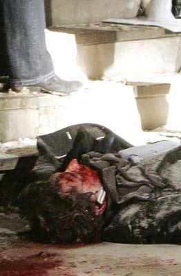马尔克洛夫陈尸莫斯科街头。