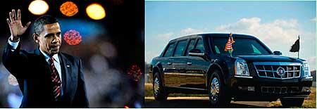 奥巴马和他的座驾