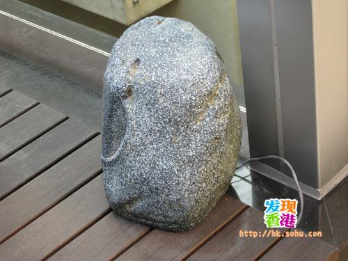 石头装饰是一个音箱
