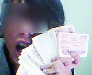 网友秀300张热门线路火车票,被指恶作剧。