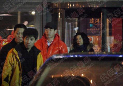 陈宝国老师与爱妻