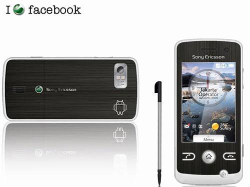 触摸屏 索尼爱立信首款Android手机网络曝光