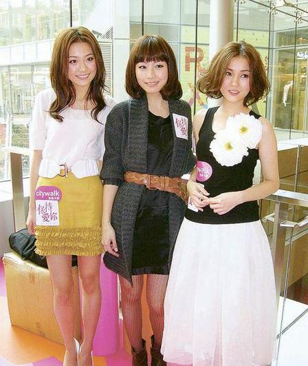 杨爱瑾、邓丽欣与谢安琪悉心打扮亮相,各有各抢镜。