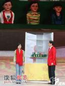 组图:09央视春晚 冯巩、金玉婷相声剧《暖冬》
