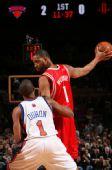 图文:[NBA]火箭VS尼克斯 麦迪单打杜洪