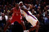 图文:[NBA]火箭VS尼克斯 哈灵顿单人独舞