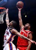 图文:[NBA]火箭VS尼克斯 麦迪期待一飞冲天