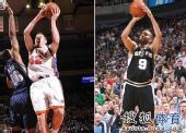 NBA公布东西部周最佳球员 大卫-李携手帕克当选