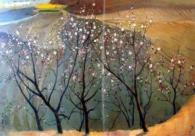 被吴冠中认定为假画的《桃花》