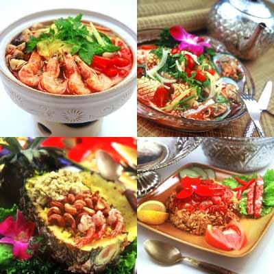 泰国菜以独特的调料享受美食的诱惑