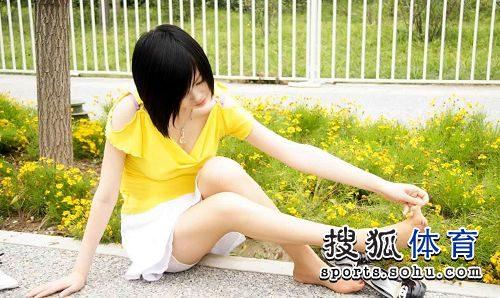 图文:丝袜美女鸟巢清纯写真