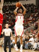 图文:[NBA]火箭VS公牛 布鲁克斯远投三分