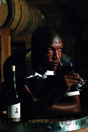 南非新一代酿酒师Tseliso Rangaka