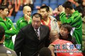 图文:北京主场胜陕西 吴庆龙很郁闷