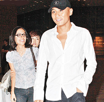 刘烨和女友(资料图片)