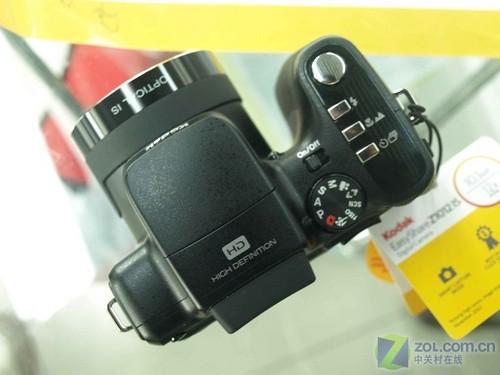 支持720P动态拍摄 柯达Z1012 IS套装促销