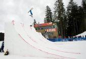 图文:加拿大站空中技巧资格赛 瑞士选手穆勒