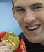 图文:菲尔普斯被美国泳协禁赛3个月 曾经辉煌