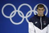 图文:菲尔普斯考虑放弃2012奥运 回顾北京奥运