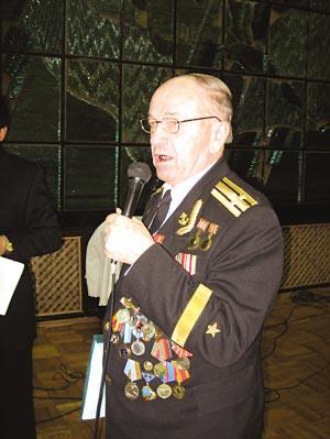 波罗德科海军上将,光复哈尔滨时还是一位毛头小伙。