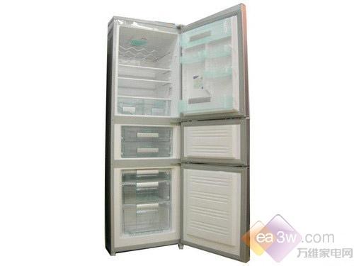 热卖断货 美菱三开门冰箱直降530