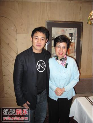 李连杰先生与世界卫生组织总干事Dr. Margaret