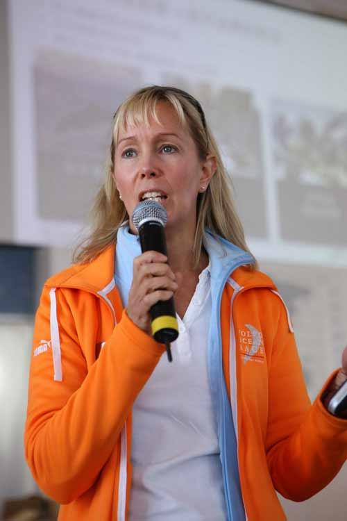 沃尔沃汽车环球帆船赛总监卡林·巴克兰德