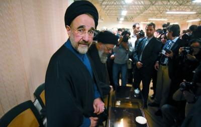 □伊朗前总统哈塔米宣布参加6月的总统大选