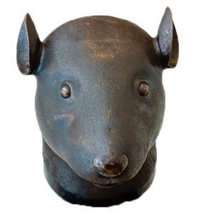 资料图:圆明园鼠首铜像
