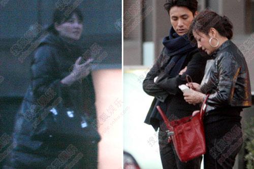 王菲和赵薇用了同款手袋