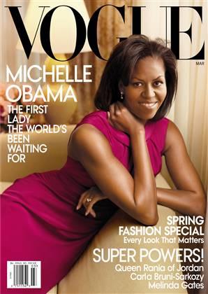 米歇尔-奥巴马登上《VOGUE》美国版3月号封面