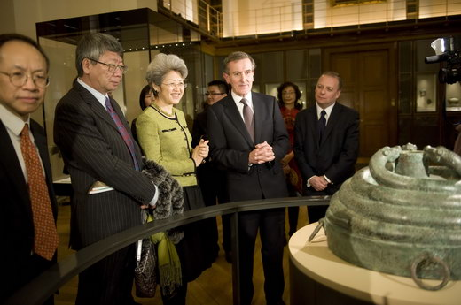 大英博物馆举办中国古代青铜玉器展