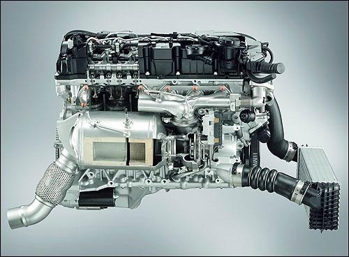 BMW全铝增压直列6缸柴油发动机