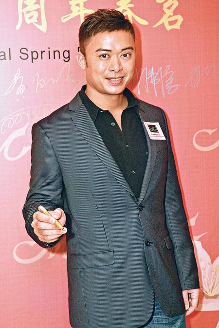 樊少皇觉得有份提名金像奖男配角已很开心。