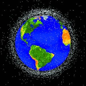 越来越多的太空垃圾对今后航空事业造成严重影响