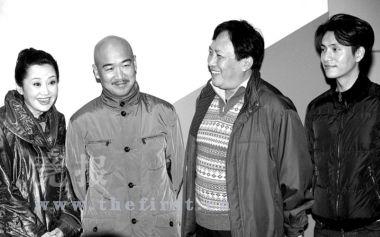 许晴、张国立、唐国强、陈坤出席发布会