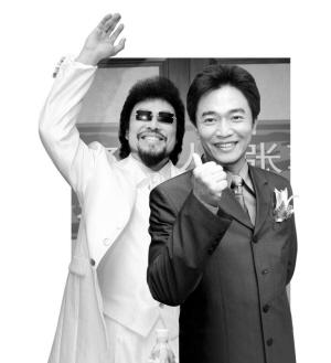 """张菲(左)吴宗宪(右) 台湾主持界""""掌门"""""""