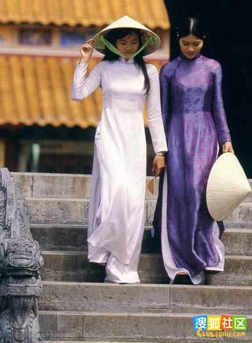 婀娜多姿!令人销魂的越南女子