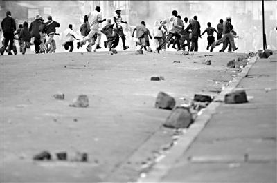 马达加斯加冲突再起。