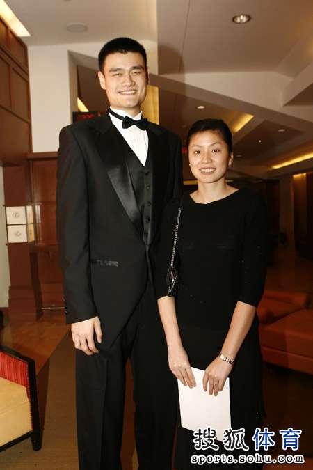 Yao Ming Standing Next To