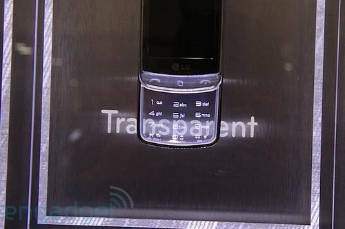 透明键盘初次华丽亮相 LG GD900美图赏