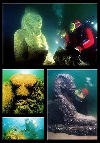 埃及亚历山大水下古城