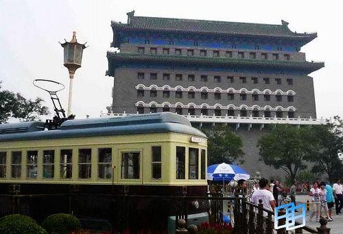 前门——贴着老北京的标签
