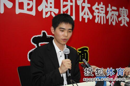 李世石接受媒体采访